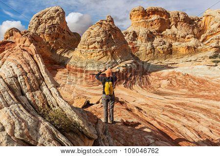 Hike in Utah mountains