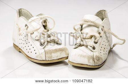 Kids Shoes Untied