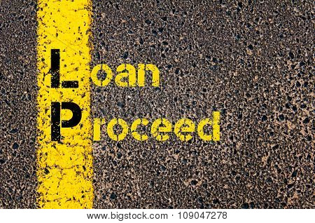 Business Acronym Lp As Loan Proceed