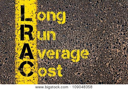 Business Acronym Lrac As Long Run Average Cost