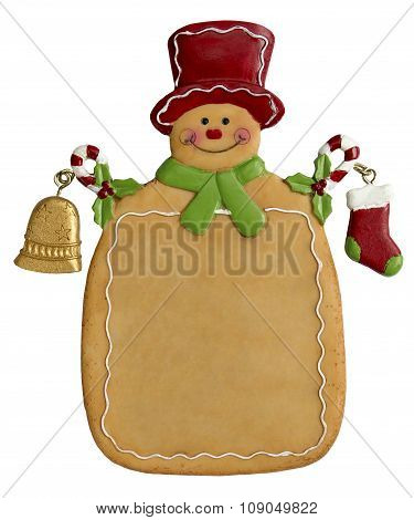 Christmas Ginger Bread Man