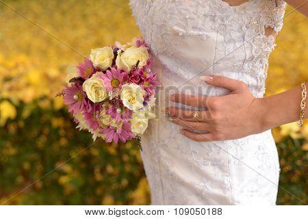 Bride photo session