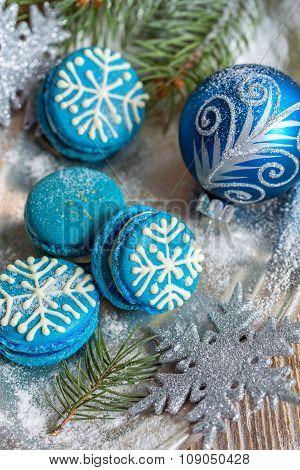Christmas Almond Cakes.