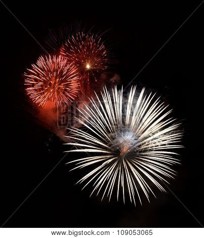 holidays background, fireworks festival, New Year, maltese fireworks,Malta