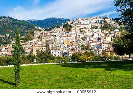 Cori, A Town Near Latina, Italy