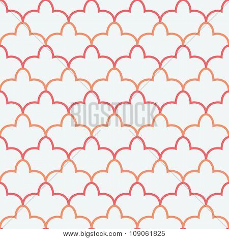 Eastern seamless pattern. illustration for holiday design