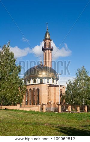 The Mosque In Nizhnekamsk Town (tatarstan, Russia)