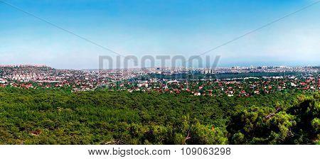 Panoramic View Of Antalya, Turkey