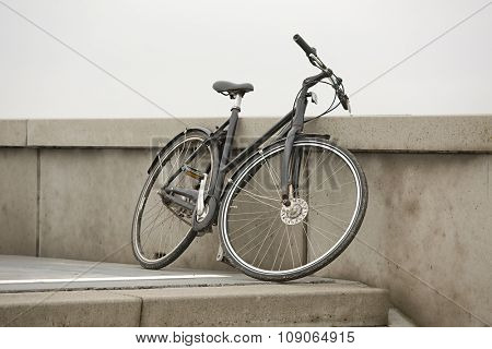 Bicycle on a dull day