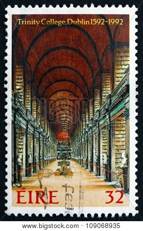 Postage Stamp Ireland 1992 Library, Trinity College, Dublin