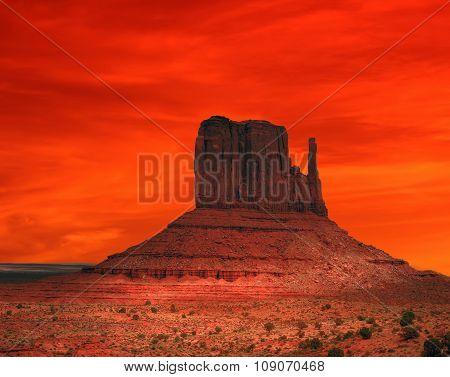 Red Arizona Sunset