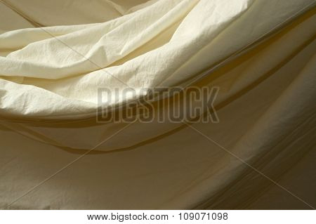Draped Muslin Background Cloth Close Up