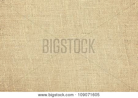Rough Jute Fabric Natural Texture Or Background