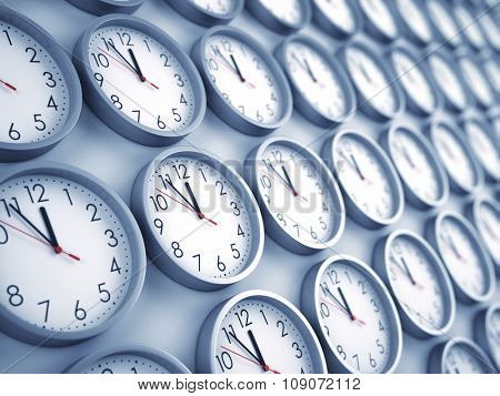 wall clocks background