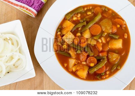 Vegetable Stew Bowl
