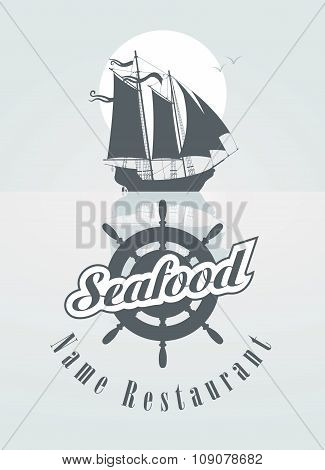 Menu For The Seafood