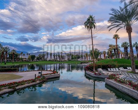 Grounds of the JW Marriott Desert Springs