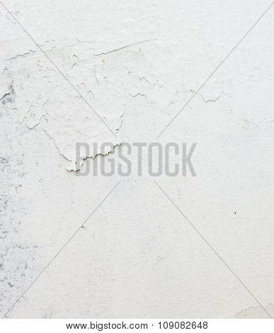 Peeling White Walls