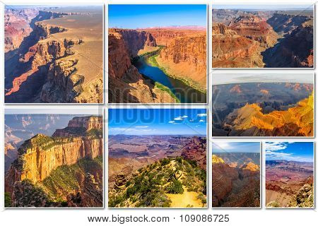 Grand Canyon collage