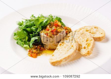 liver pate with toasts