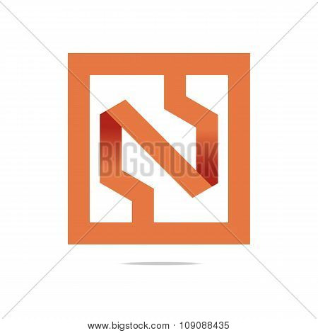 Logo full symbolhexa circle icon vector