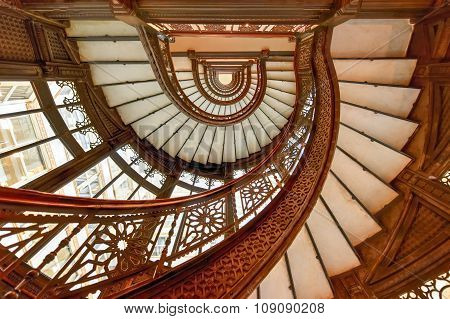 Rookery Building Lobby - Chicago