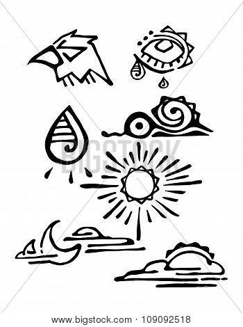 Prehispanic Symbols