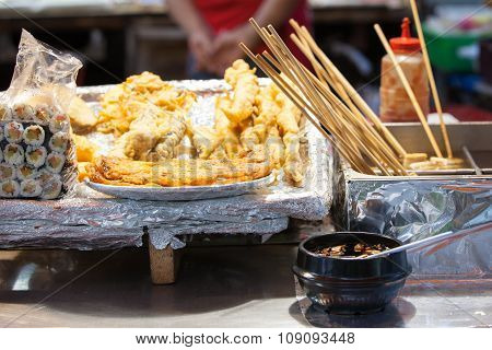 Korean street food, Seoul