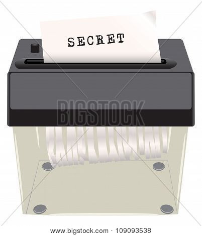 Secret Document Shredder