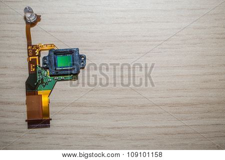 Camera Sensor on a table