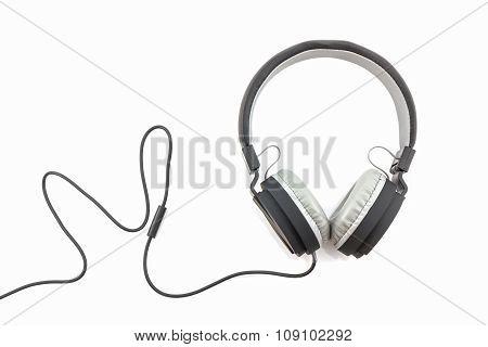 Black Headphones.