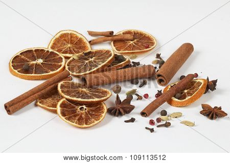 Set Of Spices For Mulled Wine