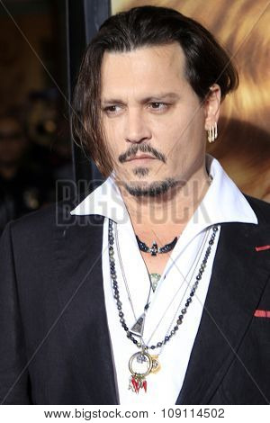 LOS ANGELES - NOV 21:  Johnny Depp at the
