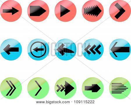 Set arrow color icon