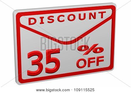 Envelope With Sign Discount 35 % Off