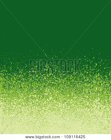 Spray Painted Green Gradient Background