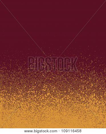 Spray Painted Burgundy Orange Gradient Background