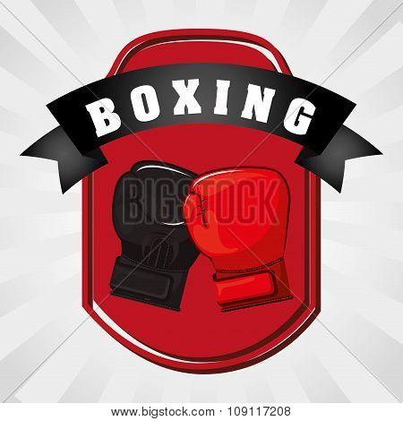 Boxing gloves design