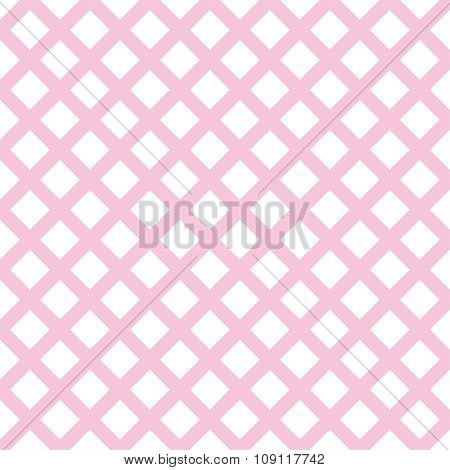 Tile pink vector plaid background or pattern