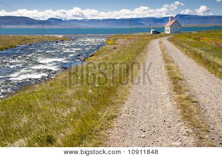 Landscape View - Unadsdalur, Iceland