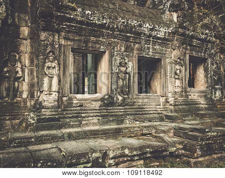 Banteay kdei temple, Angkor,  Siem Reap, Cambodia.
