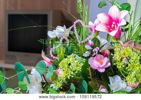 Bouquet of flowers composition