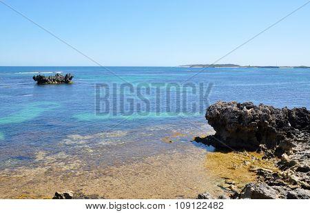 Turquoise Seascape at Cape Peron, Western Australia
