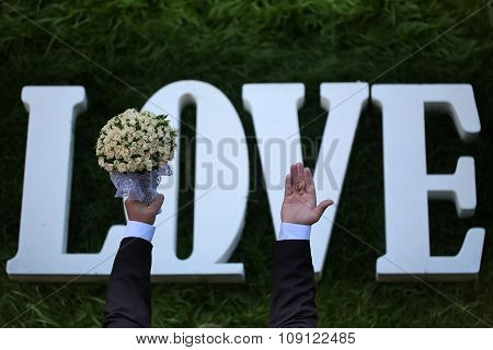 Love Wedding Flowers