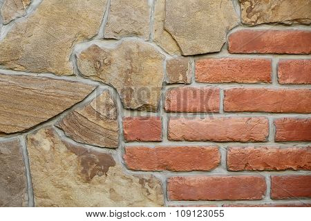 Seamless Stone And Brick Wall