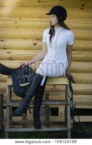 Beautiful Girl Jockey
