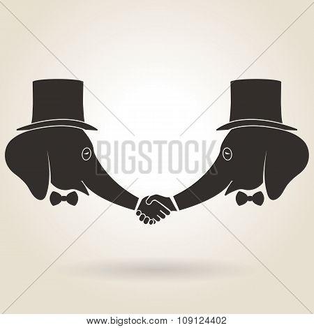 Abstract Handshake
