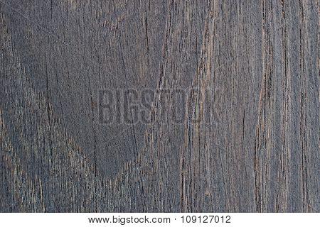Black old oak cutting board texture
