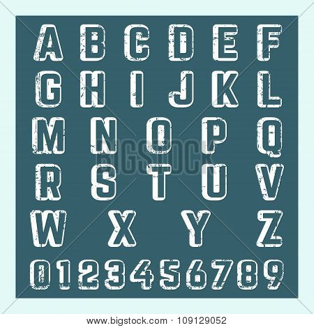 Letter Number Template