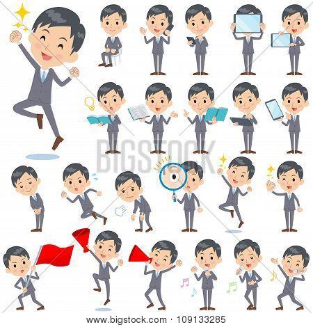 Gray Suit Businessman 2